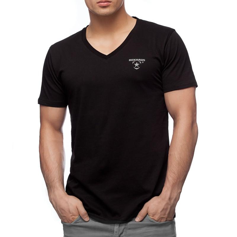 Abverkauf INCEPT basic V-Neck black