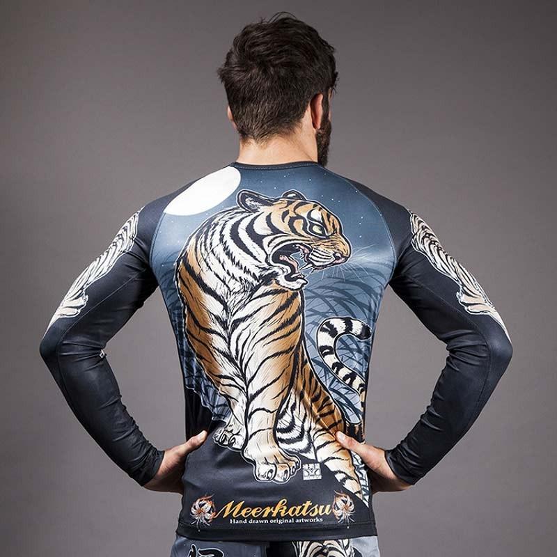 Abverkauf Meerkatsu Tiger Rashguard LS