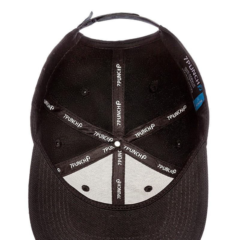Abverkauf 7Punch M-Mission Snapback Cap black