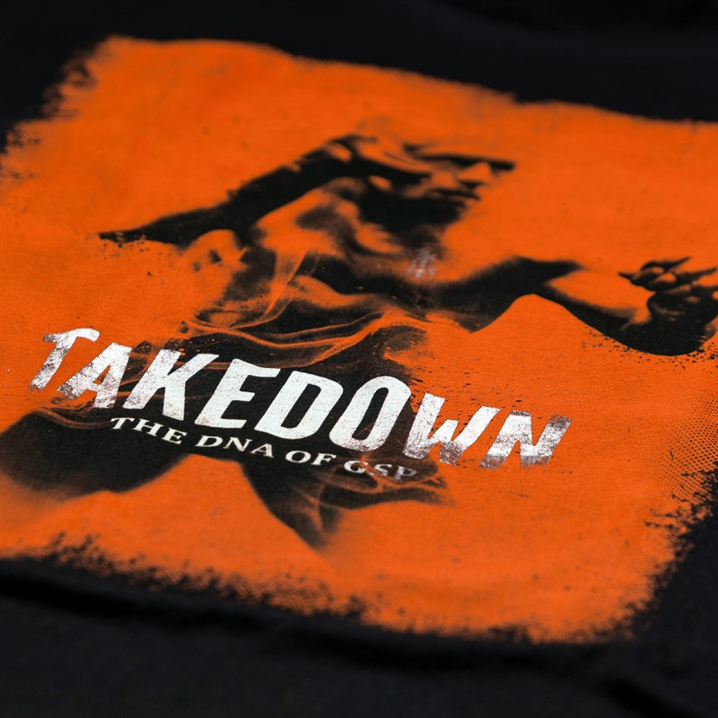 Abverkauf 7PUNCH GSP TAKEDOWN T-Shirt black