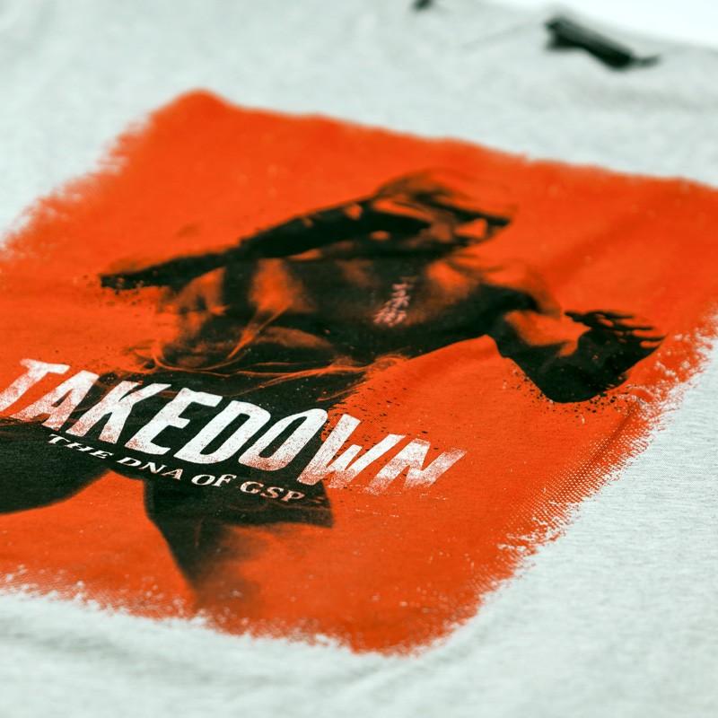 Deal des Monats  7PUNCH GSP TAKEDOWN T-Shirt grey htr