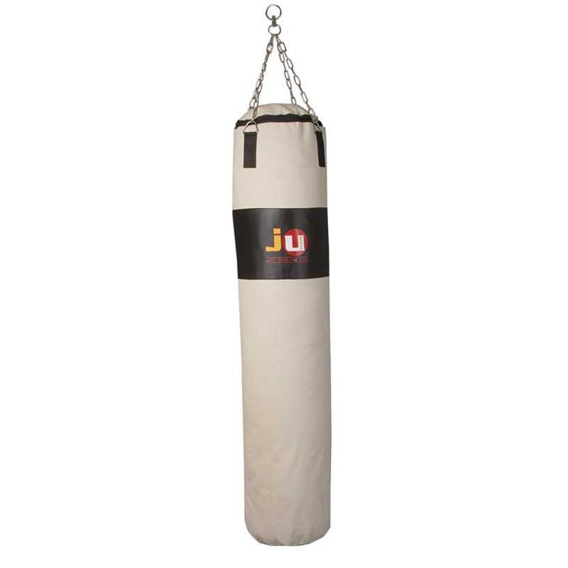ju- Sports Boxsack Black Target Canvas 120cm ungefüllt