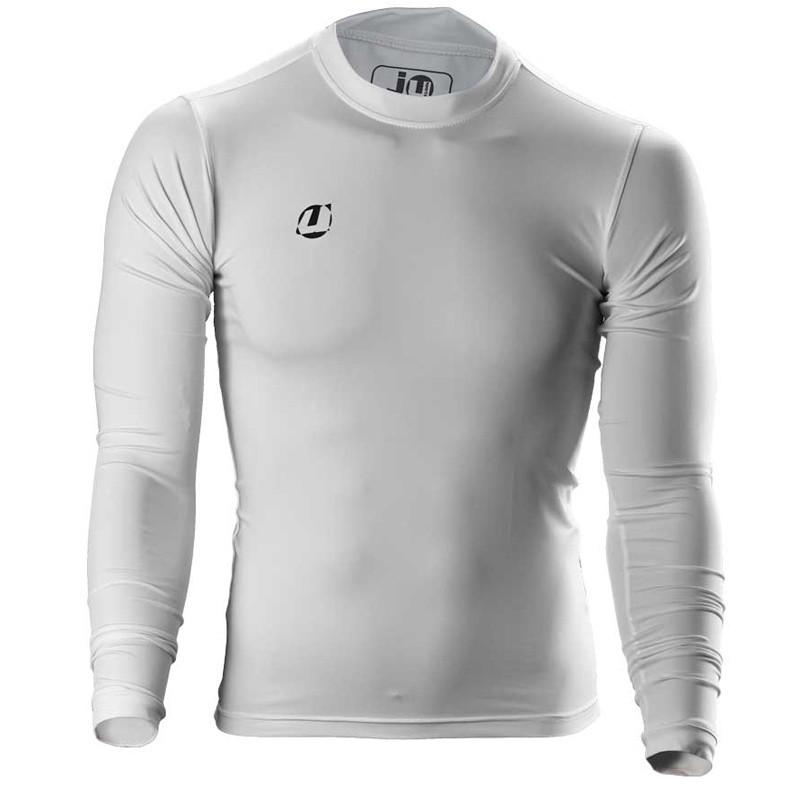 Abverkauf Ju- Sports Compression Shirt Weiss LS