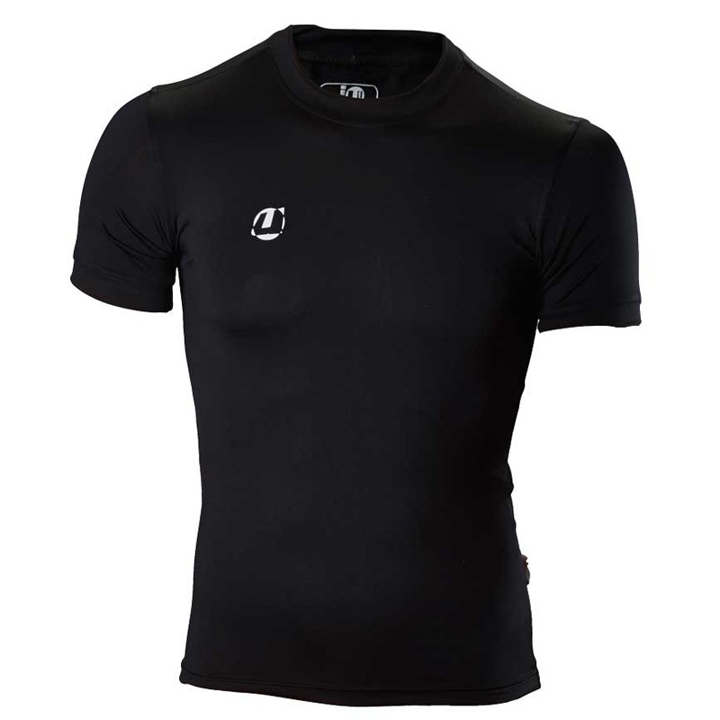 Ju- Sports Compression Shirt Schwarz SS