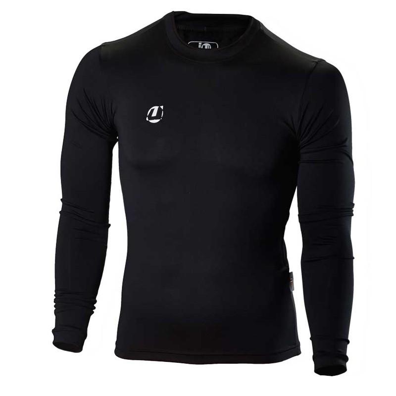 Ju- Sports Compression Shirt Schwarz LS