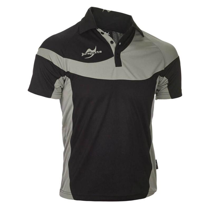 Abverkauf Ju- Sports Teamwear Element C1 Polo Schwarz