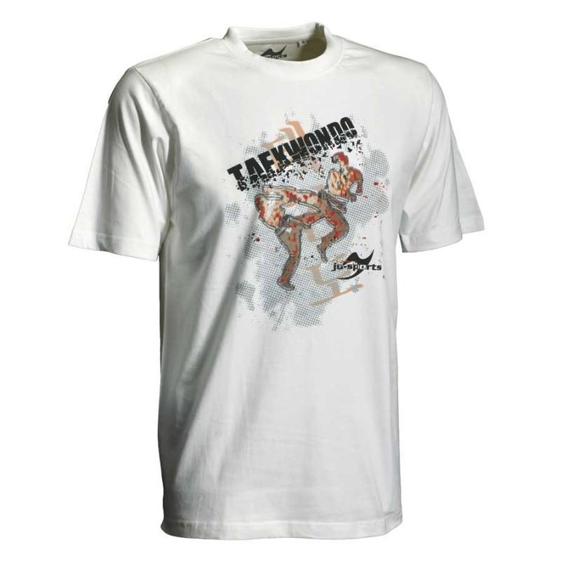 Ju- Sports Taekwondo Matsogi Shirt Weiss Kids
