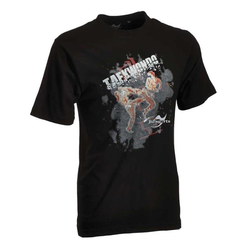 Ju- Sports Taekwondo Matsogi Shirt Schwarz