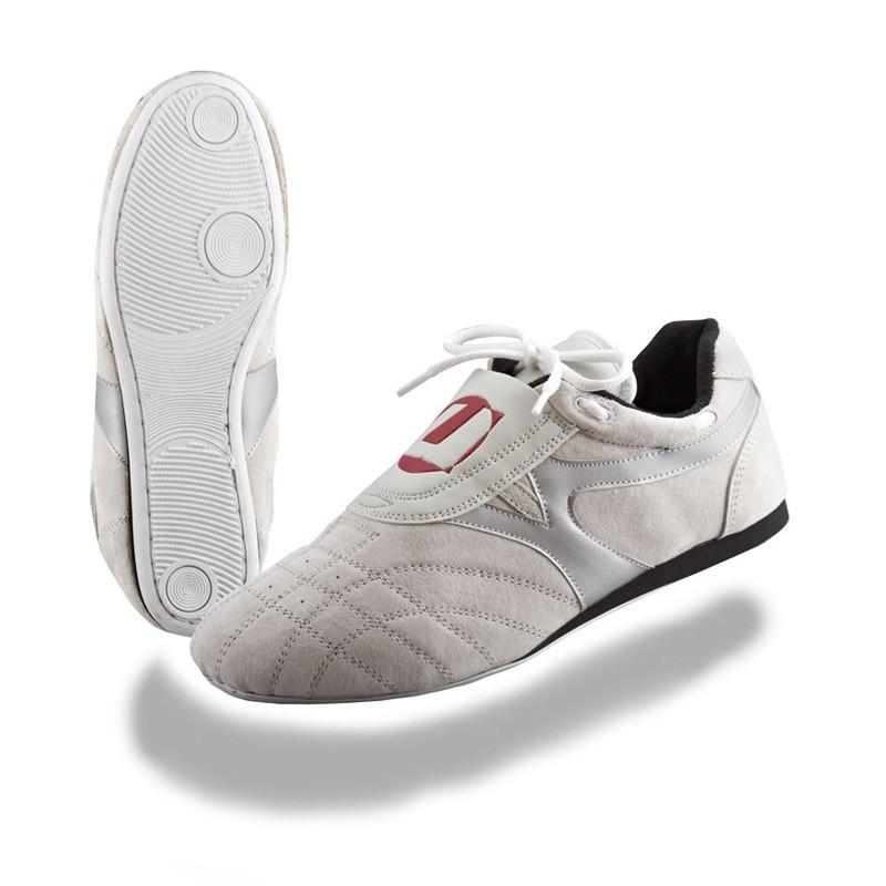 Ju- Sports Taekwondo Schuhe Reza Weiss Silber