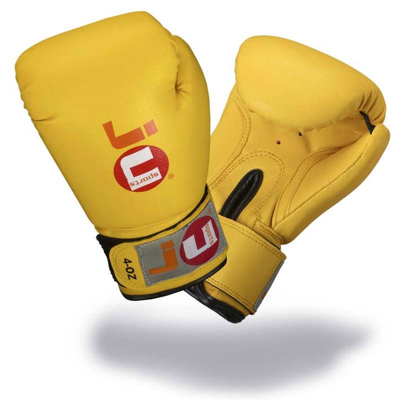 Ju- Sports Kinder Boxhandschuhe Gelb