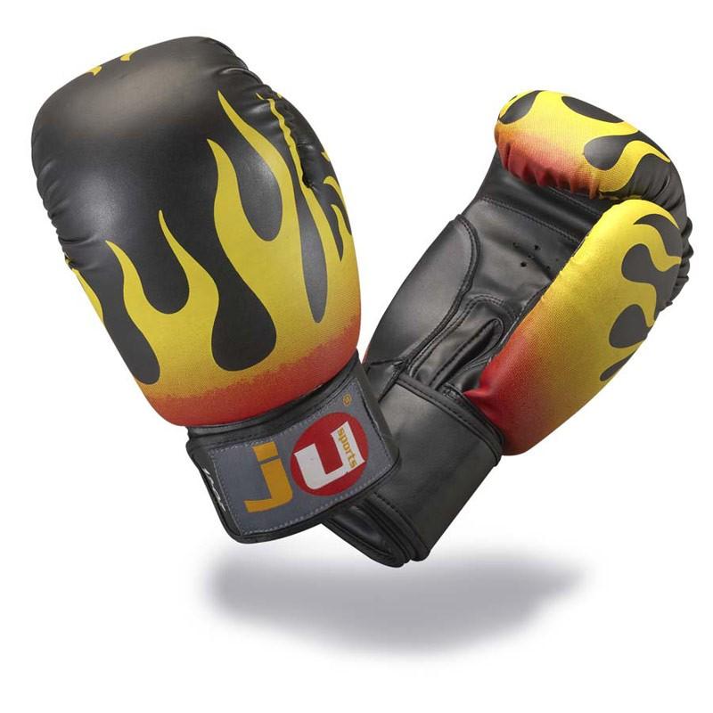 Ju- Sports Flames 12oz Boxhandschuhe