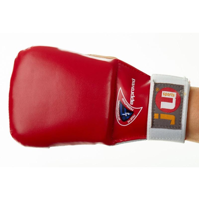 Ju- Sports Ju Jutsu Handschutz Pro Rot
