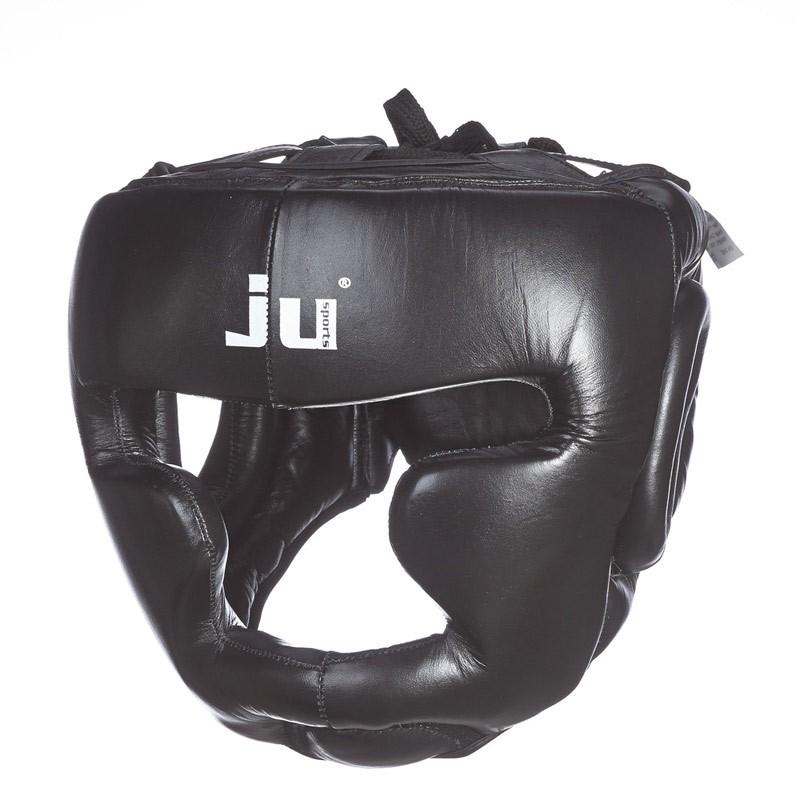 Ju- Sports Kopfschutz Chin Schwarz