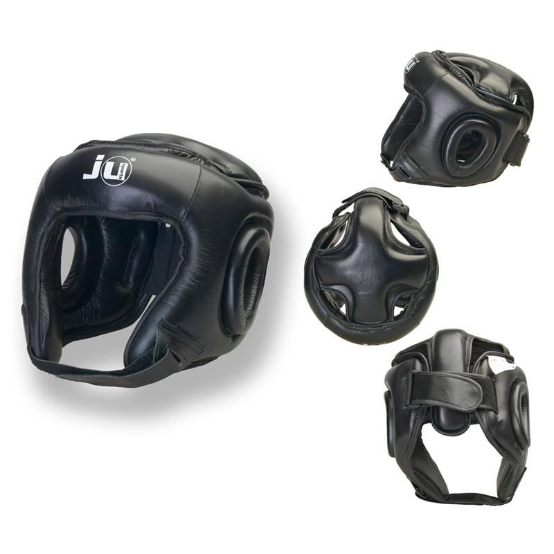 Ju- Sports Kopfschutz Lid Schwarz