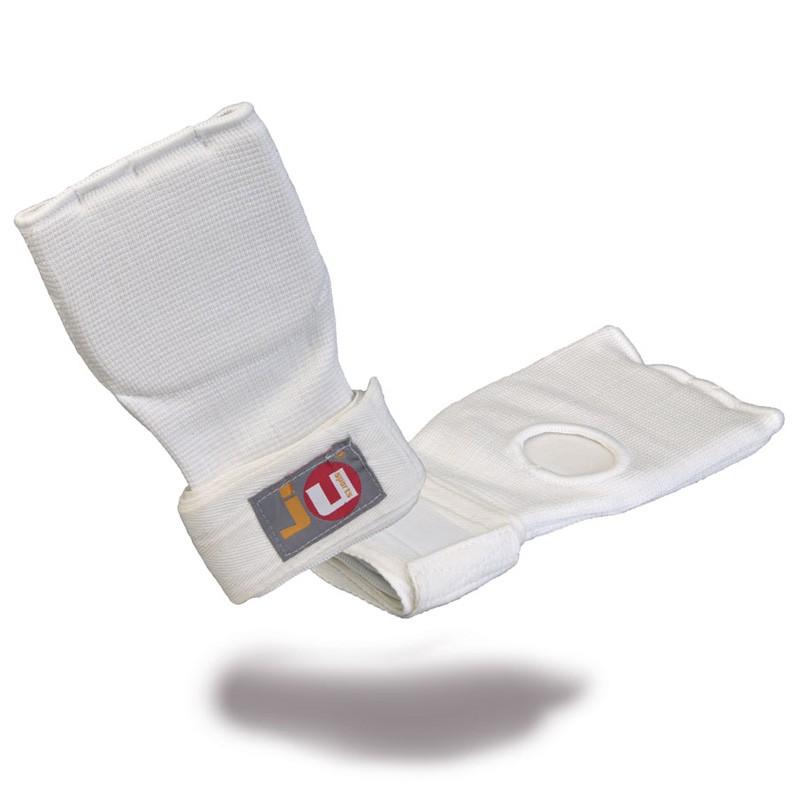 Ju- Sports Innenboxhandschuhe mit Bandage Weiss Senior