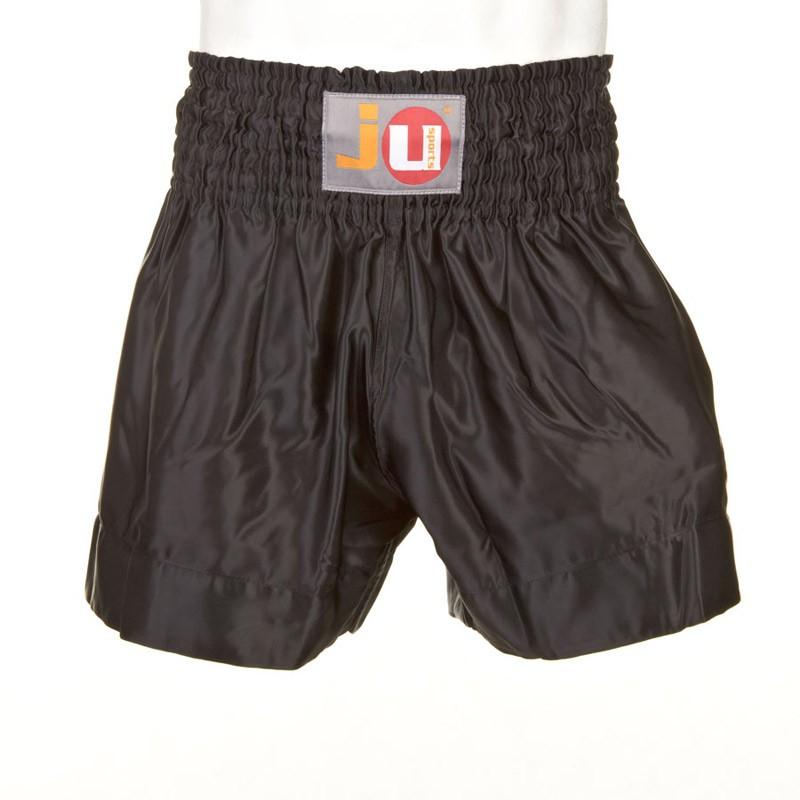 Ju- Sports Thaiboxhose Color Schwarz