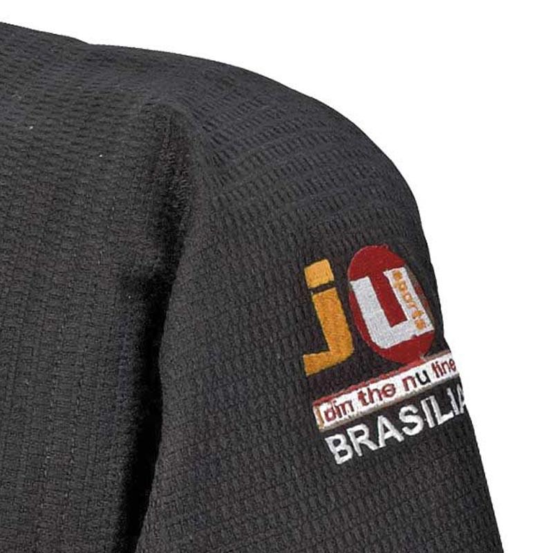 Ju- Sports Ju Jutsu Anzug Brasilia Schwarz
