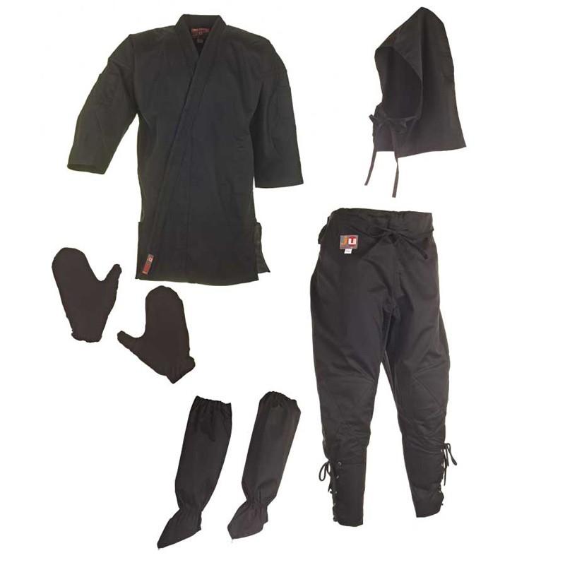 Ju- Sports Ninja Anzug Schwarz