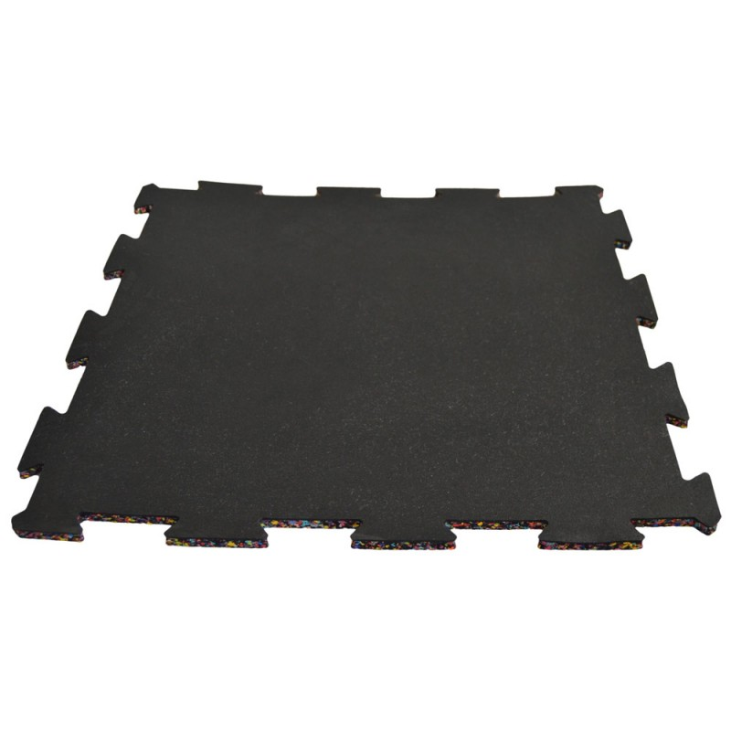 Phoenix Gummimatte schwarz 50 x 50 x 1cm