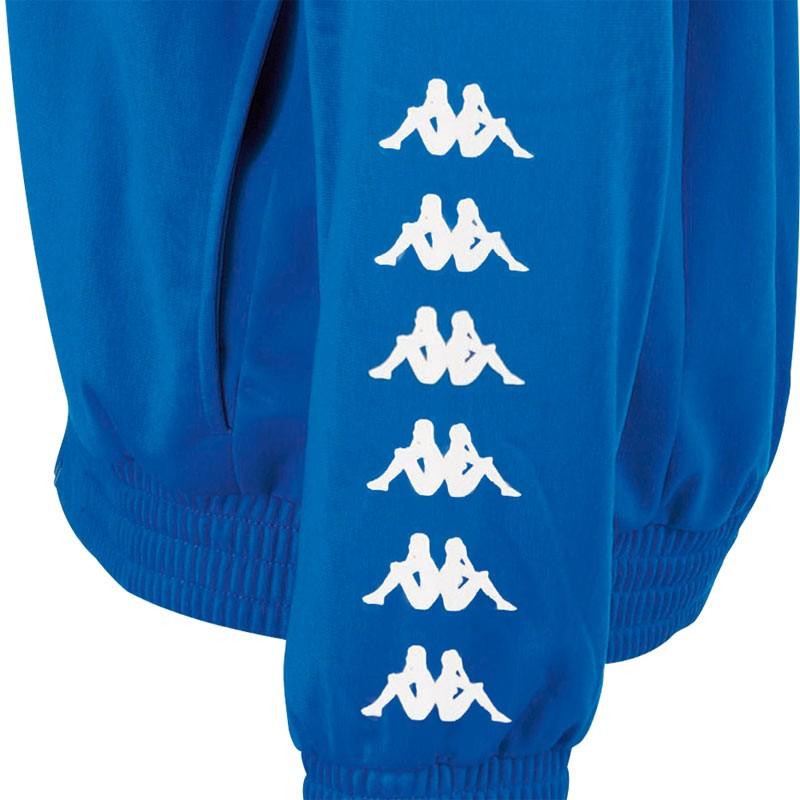 Abverkauf Kappa Till Junior Tracksuit Blue Aster