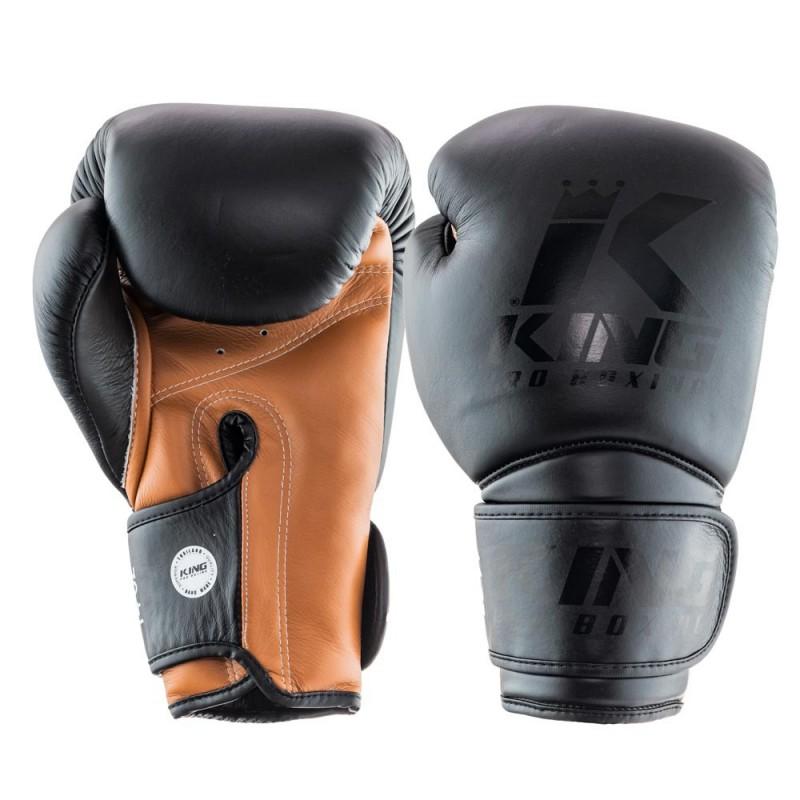 King Pro Boxing Boxhandschuh Star 3 schwarz