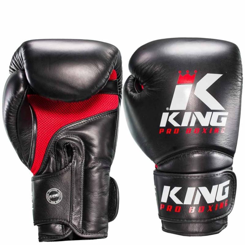 King Pro Boxing Boxhandschuh Star Mesh 2 schwarz
