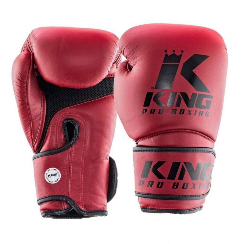 King Pro Boxing Boxhandschuh Star Mesh 3 weinrot