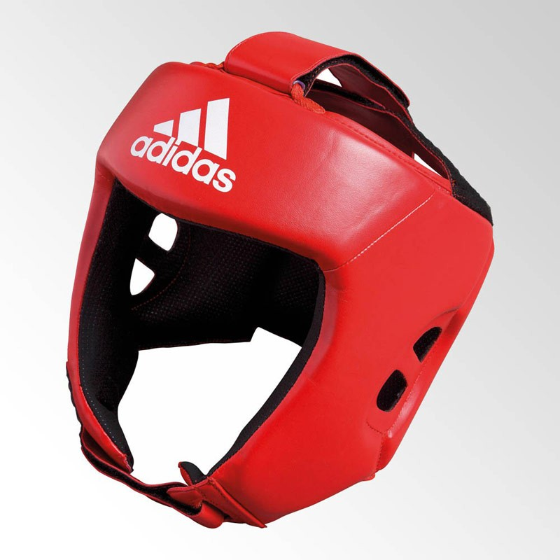 Adidas Amateur Boxing Headguard Red