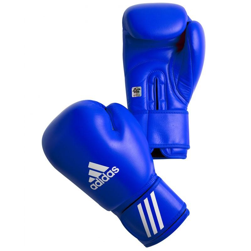 Adidas Boxhandschuhe AIBA-DBV blau