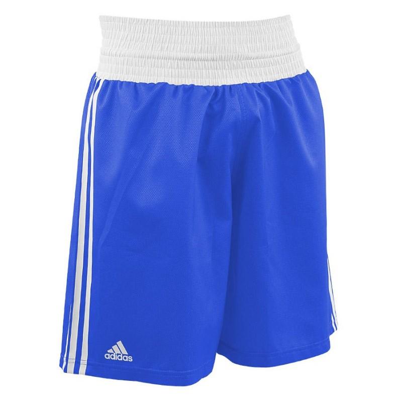 Abverkauf Adidas Boxing Shorts AIBA Blue White