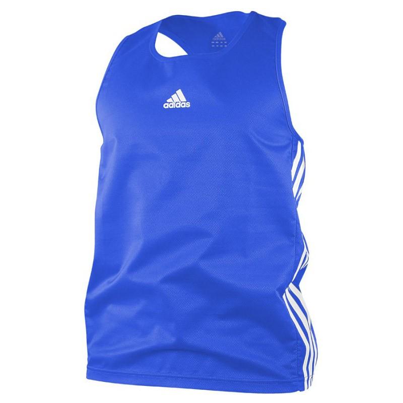 Abverkauf Adidas Boxing Top AIBA Blue White