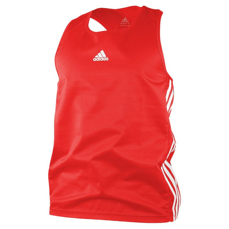 Abverkauf Adidas Boxing Top AIBA Red White
