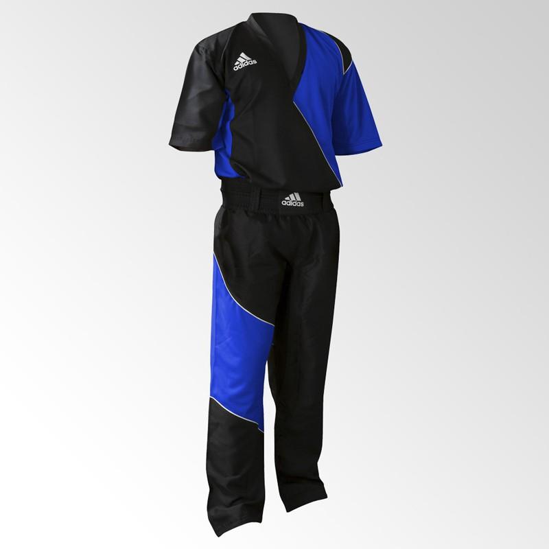 Abverkauf Adidas Kick Boxing Top Black Blue