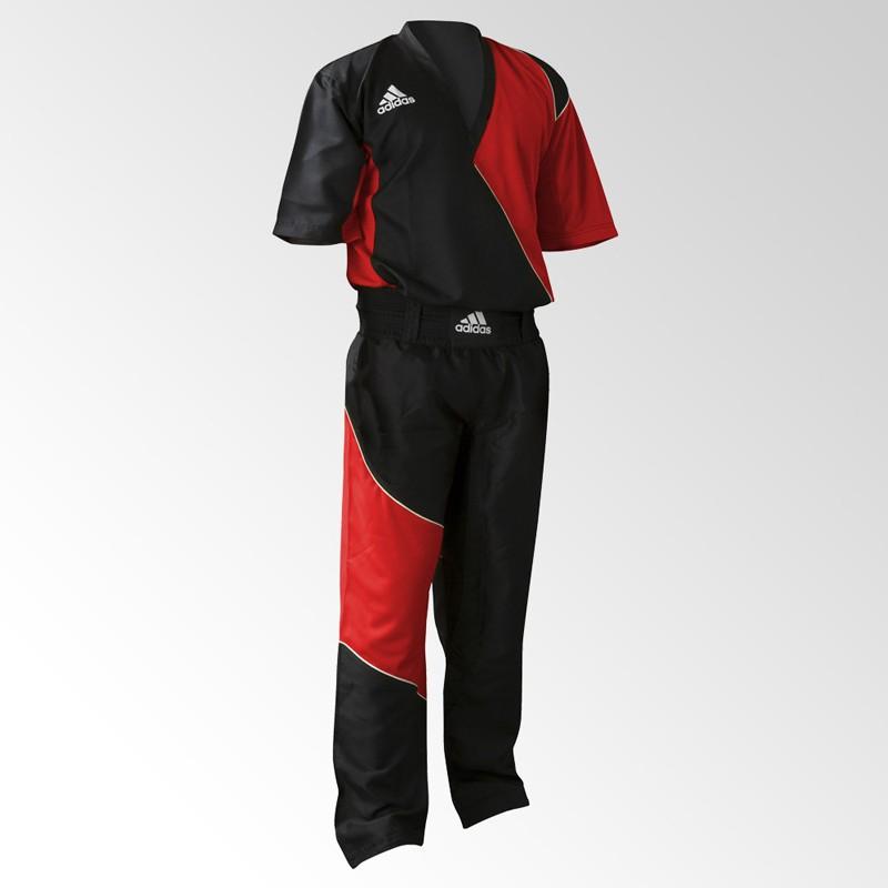 Abverkauf Adidas Kick Boxing Top Black Red