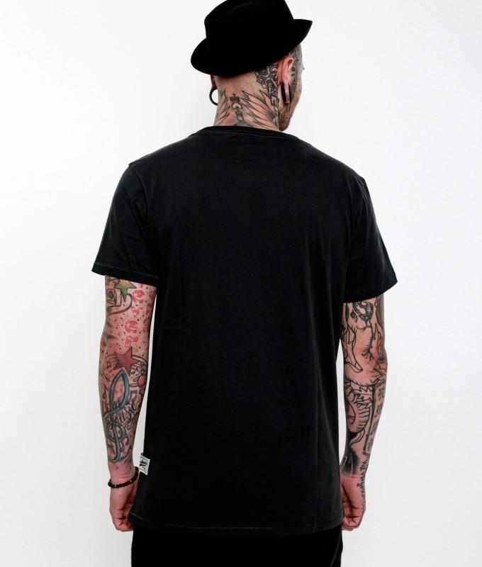 Abverkauf  BOXHAUS Brand WAH T-Shirt black