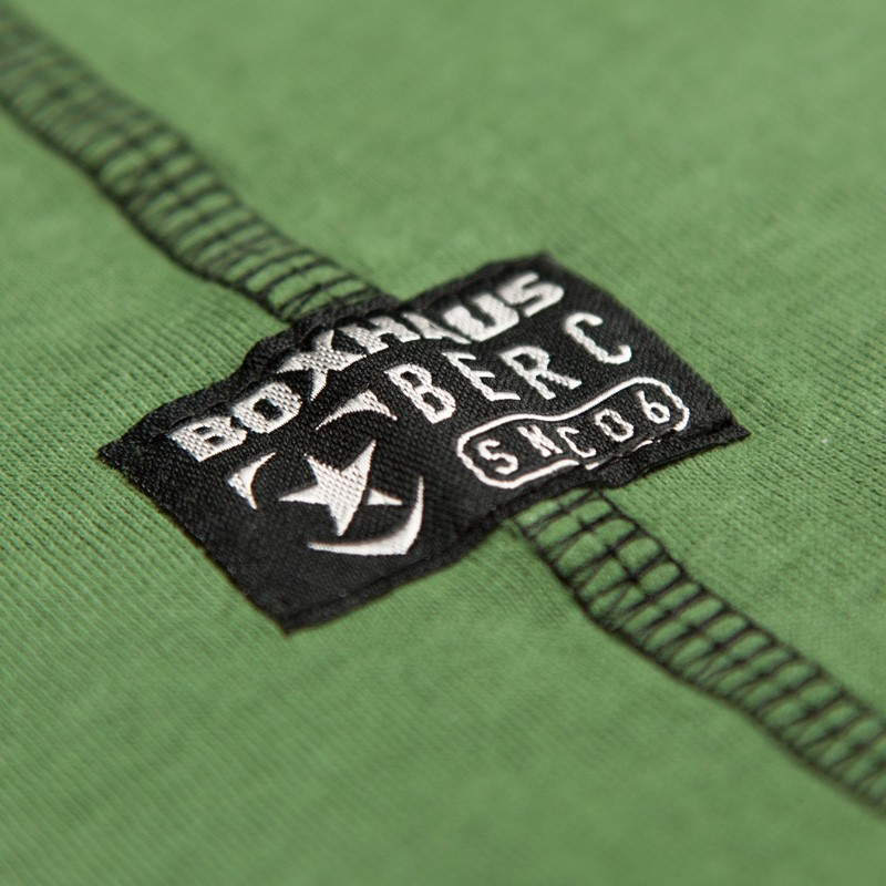 Deal des Monats  BOXHAUS Brand MN Tanktop WAAO nuga green