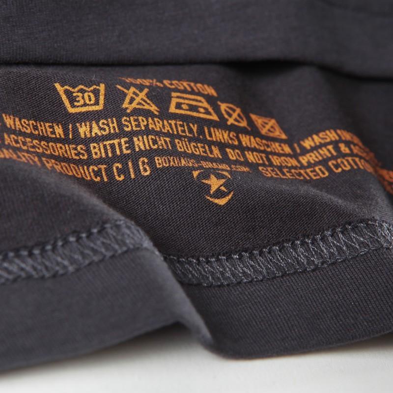 Abverkauf  BOXHAUS Brand DESPITE Shirt jetblack