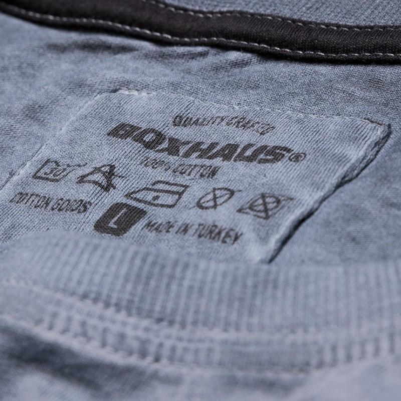 Summersale BOXHAUS Brand Jero T-Shirt rock grey