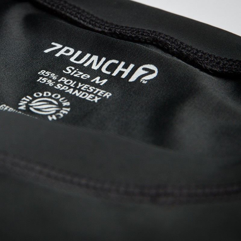 Abverkauf 7PUNCH Compression Rashguard LS M-Mission Men black