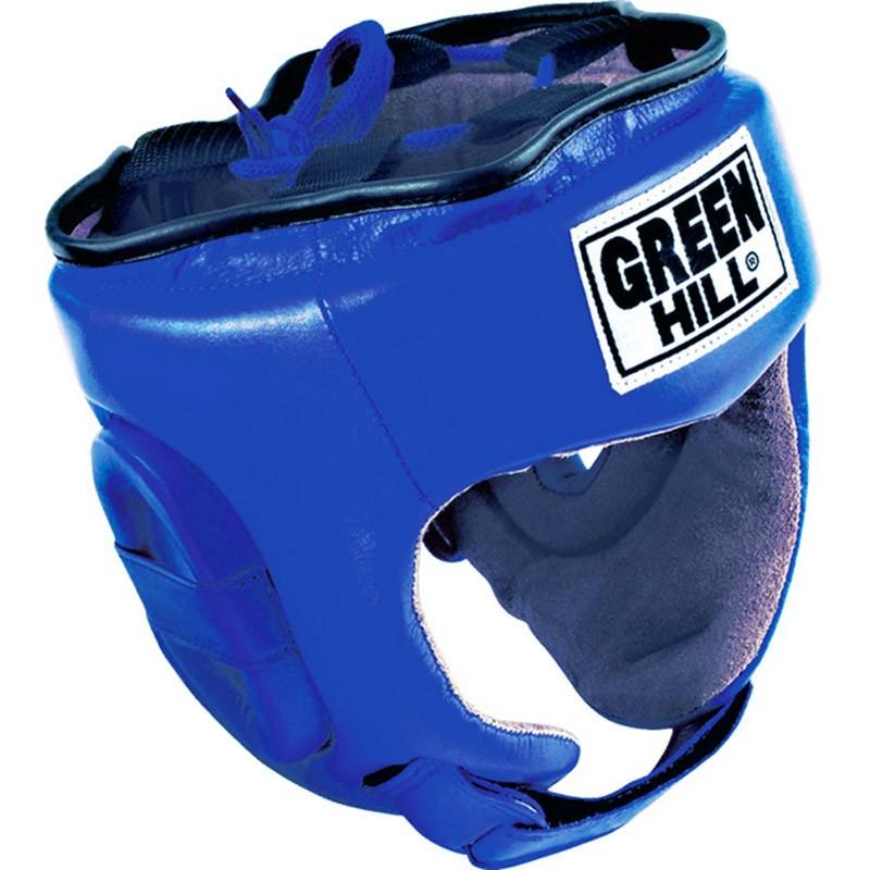 Green Hill Trainingskopfschutz Fivestar blau