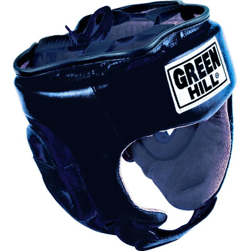 Green Hill Trainingskopfschutz Fivestar schwarz
