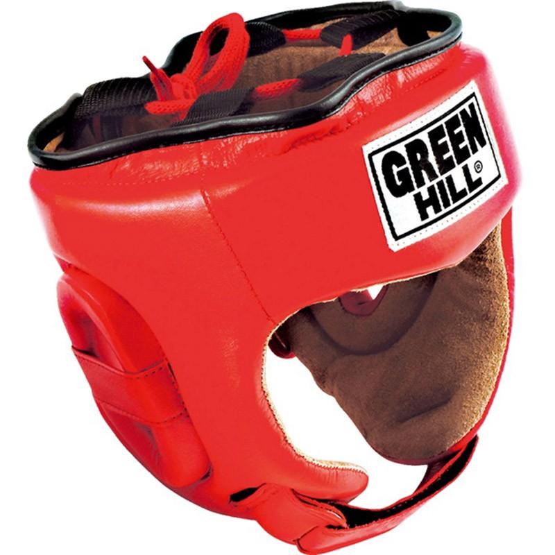 Green Hill Trainingskopfschutz Fivestar rot