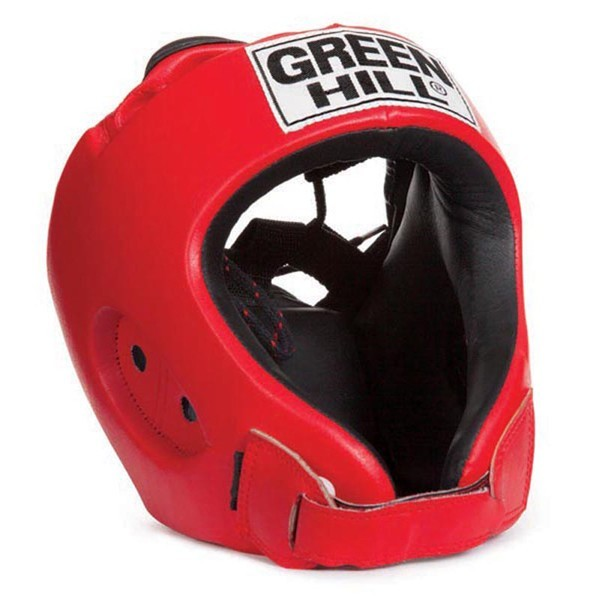 Green Hill Alfa Kopfschutz rot