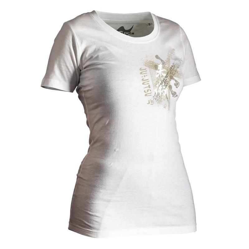 Ju- Sports Ju Jutsu Shirt Trace Weiss Lady