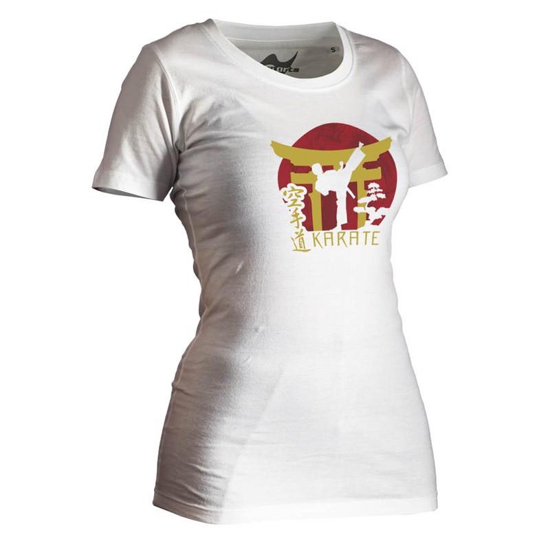 Ju- Sports Karate Shirt Torii Weiss Lady