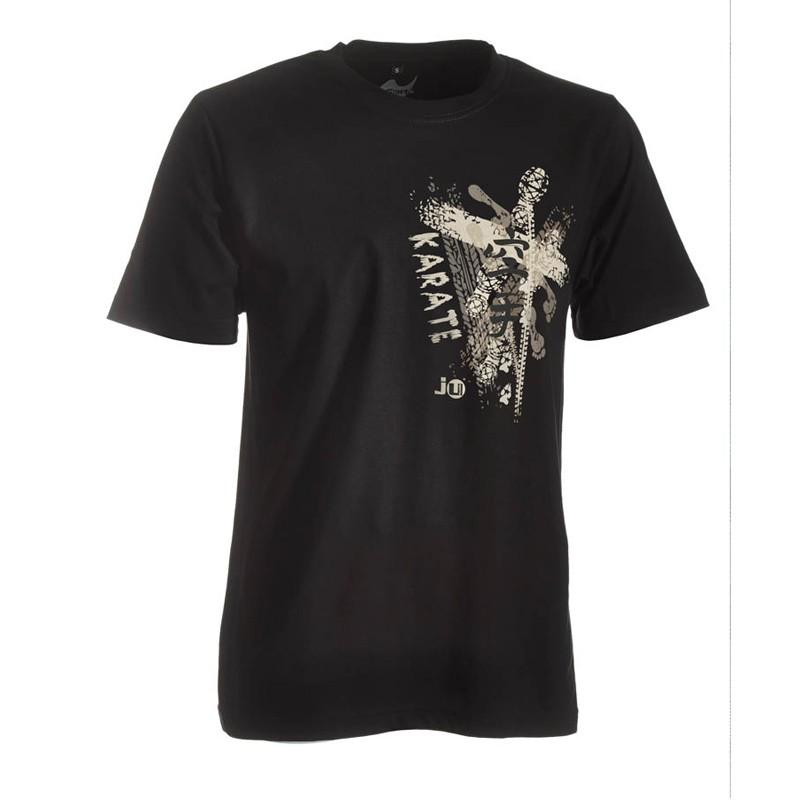 Ju- Sports Karate Shirt Trace Schwarz