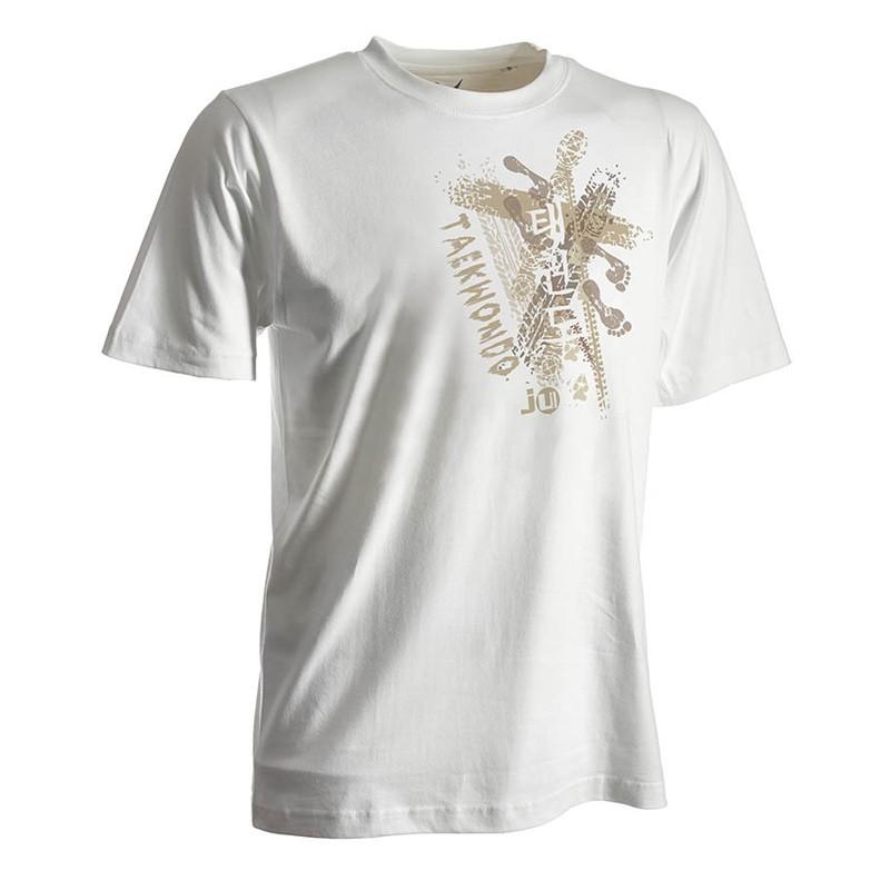 Ju- Sports Taekwondo Shirt Trace Weiss Kids