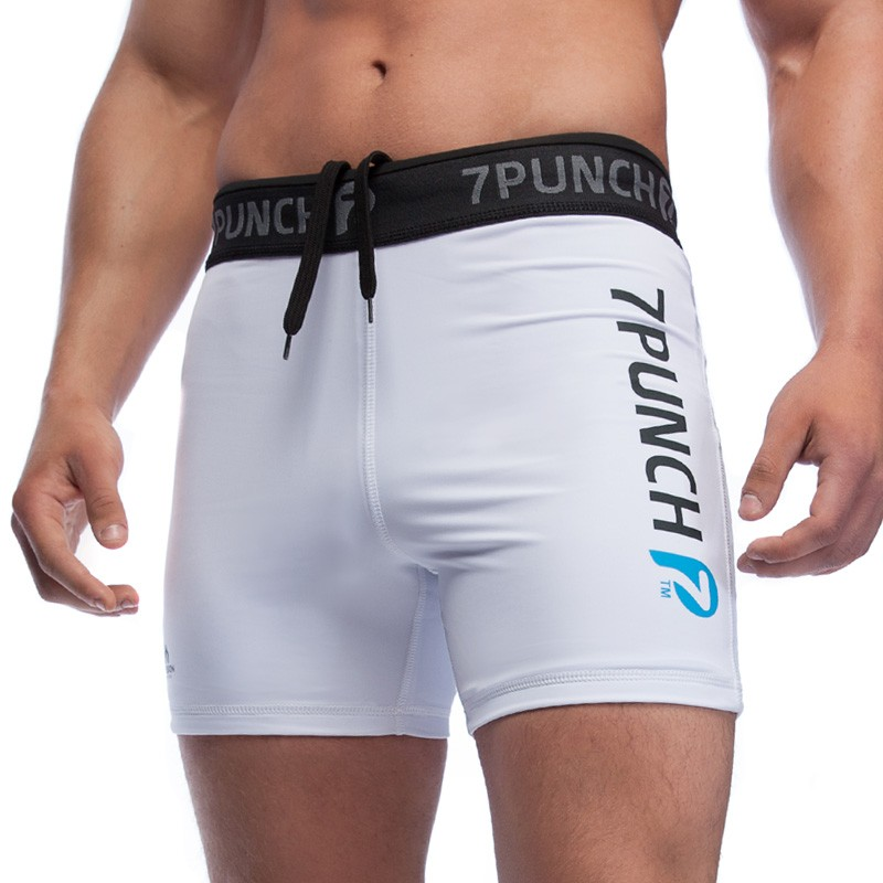 Abverkauf 7PUNCH Vale Tudo Short M-Mission Men white