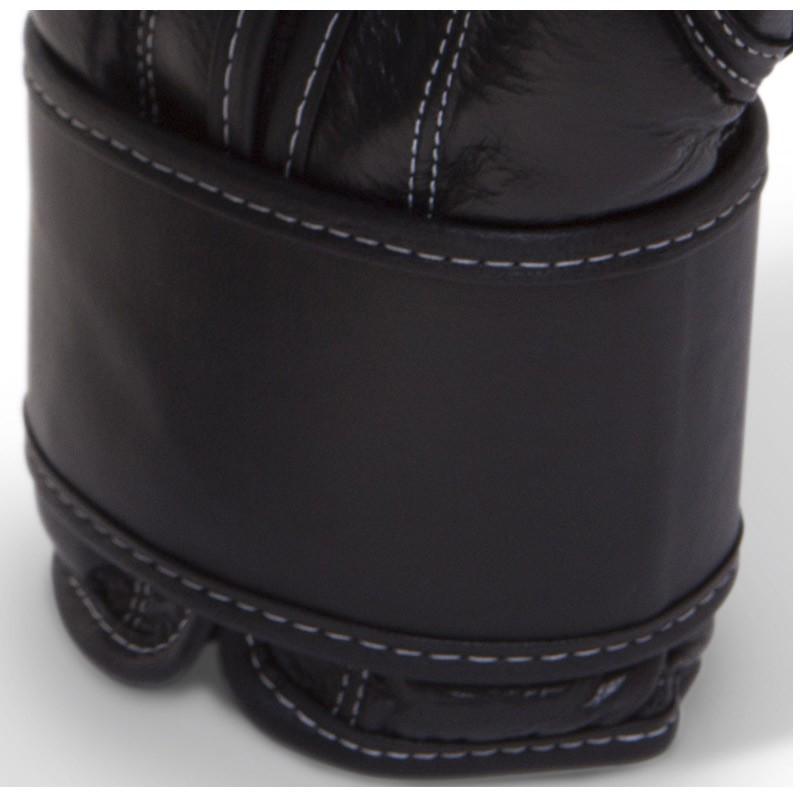 Paffen Sport KIBO FIGHT Line Boxhandschuhe Leder schwarz