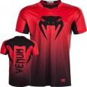 Venum Hurricane X Fit T-Shirt Red Black